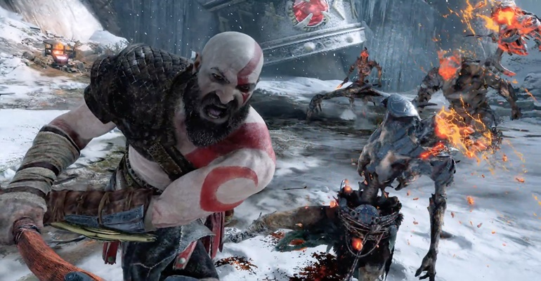 God of War 2018 Gameplay