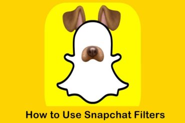 how to use snapchat filters