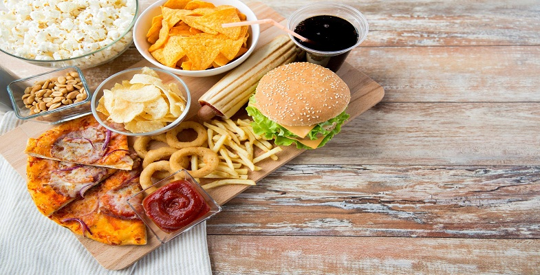 do not take processed junk food